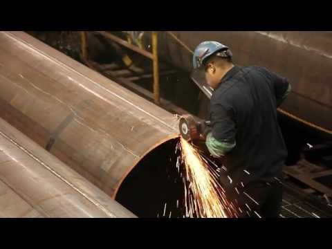 Dura-Bond Industries making steel pipes